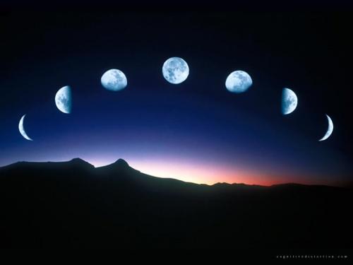 Månen (med alla sina faser) styr Kräftans tecken.