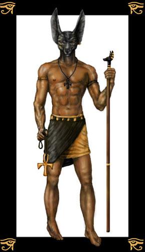 Anubis, dödsrikets väktare