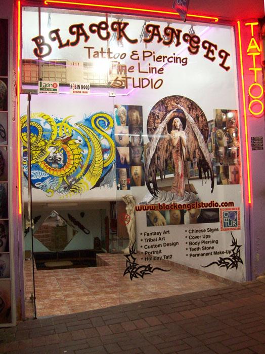 Entrén till Tatto Heaven
