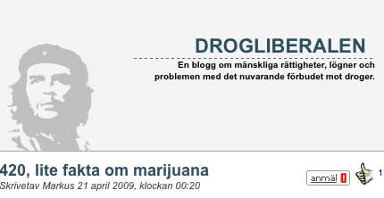 Markus avlivar myter om cannabis på inofficiella marijuanadagen den 20 april