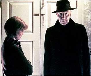 Max som Exorcisten (med Ellen Burstyn)