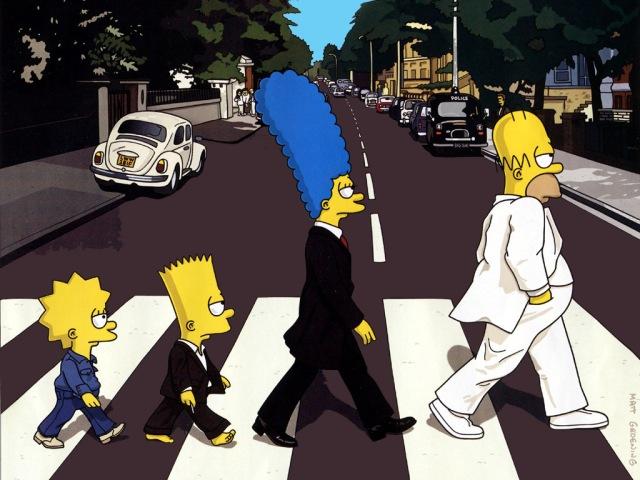 Vilka ska Simpsons föreställa? Och vem är vem? :D