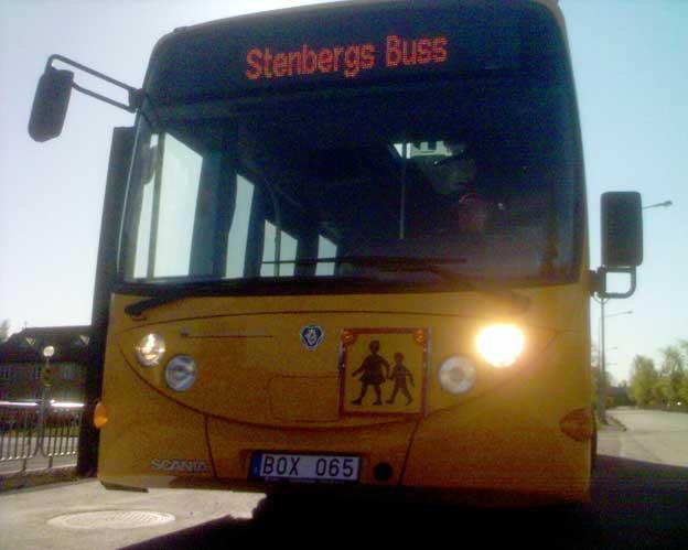 Den nya bussen är kameraövervakad. Tre kameror finns.