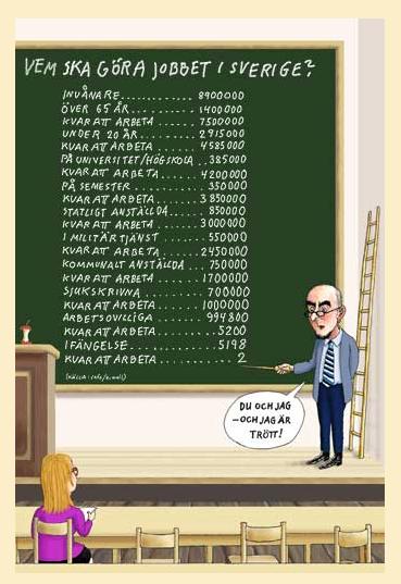 Leffes syn på arbetsmarknaden...:D