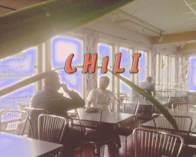 Jag kommer att sakna arbetskamraterna och det goda käket på Chili! :(