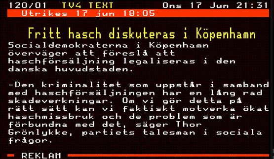 Jag såg det här telegrammet på TV4, så jag kollade lite...