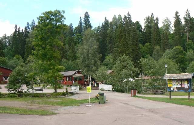 Säterdalen idag. Fotot är taget strax nedanför entrén till dalen.