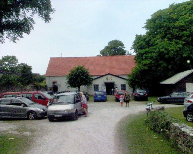 Bion i Burgsvik dår Joel (Maxi) och jag såg senaste Harry Potter-filmen