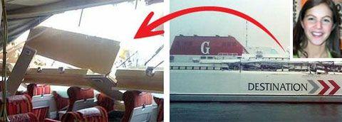 Gotlandsfärjorna  Gotlandia II och  MS Gotland kolliderade vid lunchtid idag