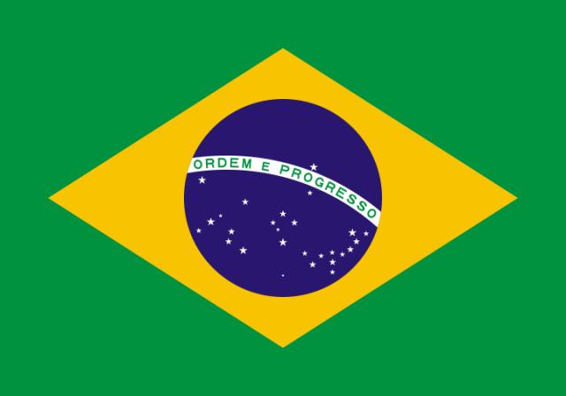 Kolla dina Brasilienkunskaper; klicka på landets flagga!