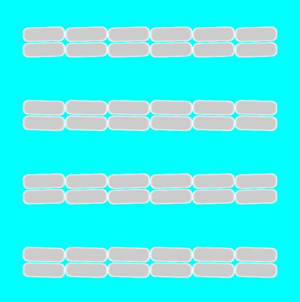 Ganska svårt att inse att de här linjerna faktiskt är parallella, eller hur..? :D