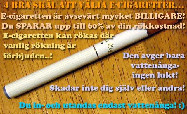 Ska e-ciggen kunna återupprätta rökarnas förlorade heder..? :)