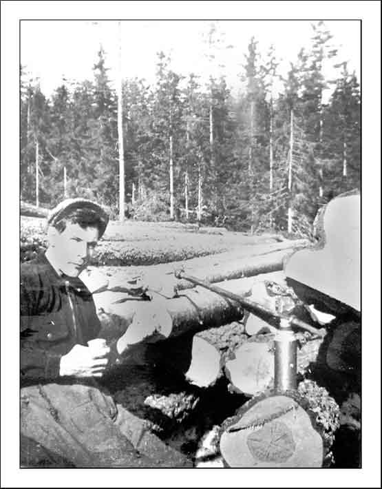 Calle Christiansson, skogsarbetare