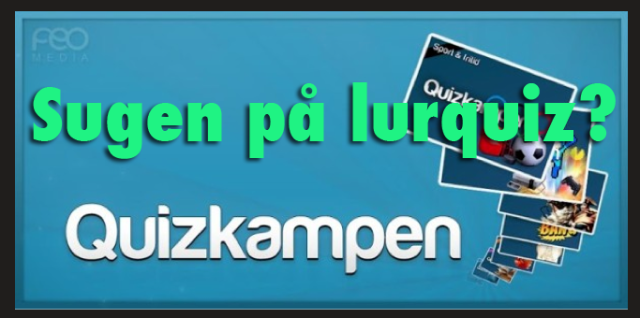 QuizKampen is a Swedish (?) app for quiz-lovers who own a smartphone